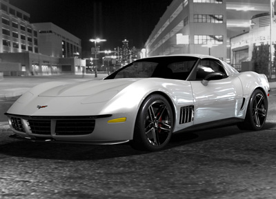 Corvette Stingray Original on Chevrolet Corvette C3r Stingray Concept By Christian Cyrulewski