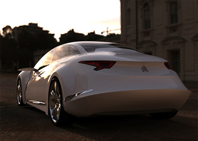 Citroen C7 Concept Cars Diseno Art