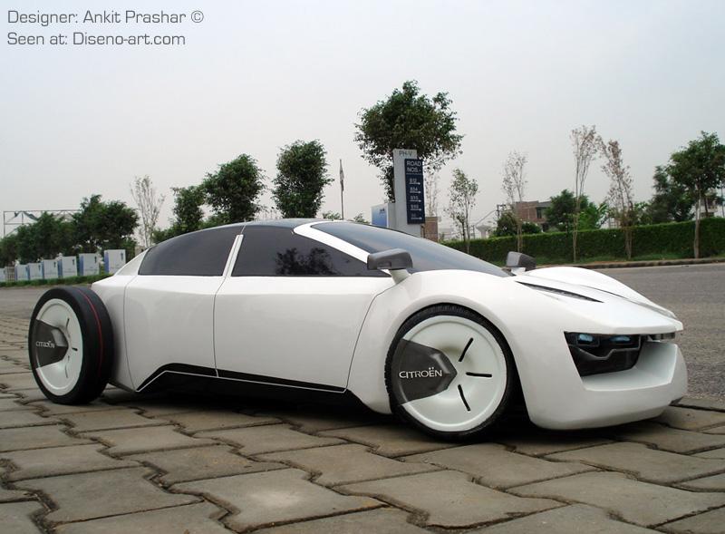 citroen eco luxury sedan concept cars diseno art. Black Bedroom Furniture Sets. Home Design Ideas