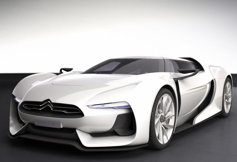 Citroen Gt Concept Cars Diseno Art