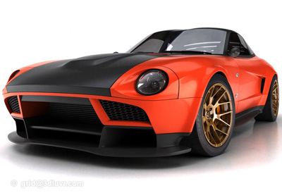 Datsun 240Z Concept   Concept Cars   Diseno-Art