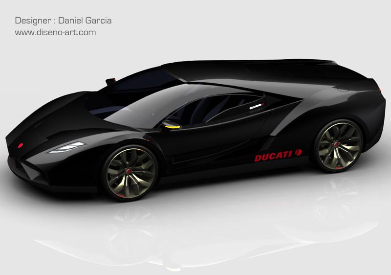 Ducati 6098 R Concept Cars Diseno Art