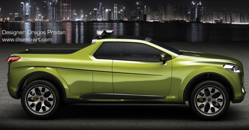 Fiat Sentiero Concept Cars Diseno Art