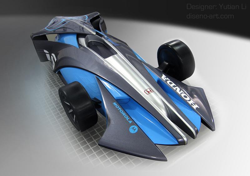 Honda Indy Racing Car  Concept Cars  DisenoArt