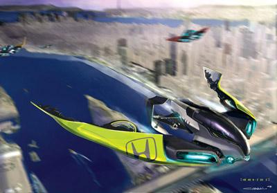 Honda The Great Race 2025 | Concept Cars | Diseno-Art