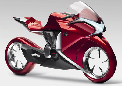 Honda V4 Concept motorcycle.جندی شاپور البرز