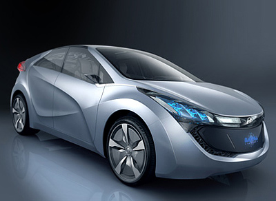 Hyundai Blue-Will hybrid powered concept car