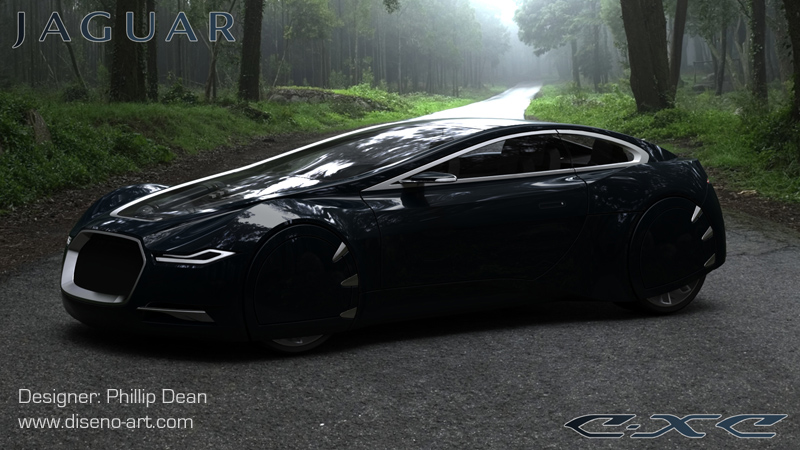 Jaguar C-XC | Concept Cars | Diseno-Art