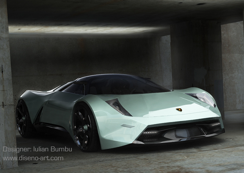 Lamborghini Insecta Concept Cars Diseno Art