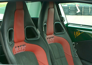 Lotus Clark Type 25 Elise SC interior