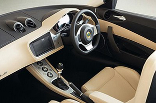 Lotus Eagle interior