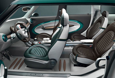 MINI Crossover Concept interior