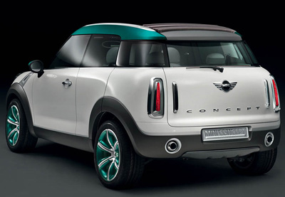 Mini Crossover Concept Concept Cars Diseno Art