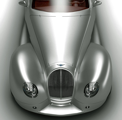 Morgan Space concept car