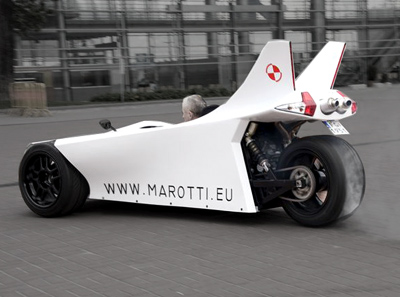 Marotti Trike Strange Vehicles Diseno Art