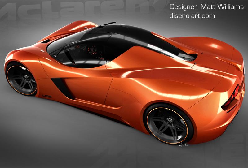 Mclaren Lm5 Concept Cars Diseno Art
