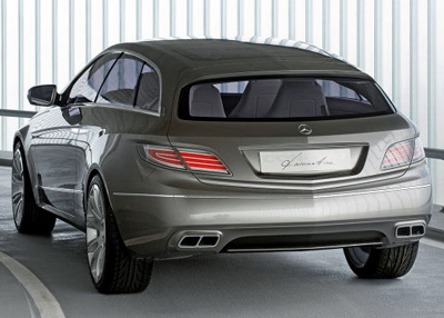 Mercedes-Benz ConceptFASCINATION rear view