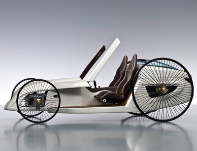 Mercedes Benz F Cell Roadster Concept Cars Diseno Art
