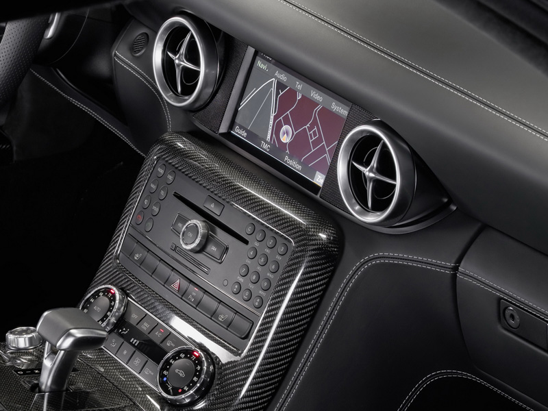 2010 mercedes benz sls amg - Mercedes Benz Sls Amg Interior