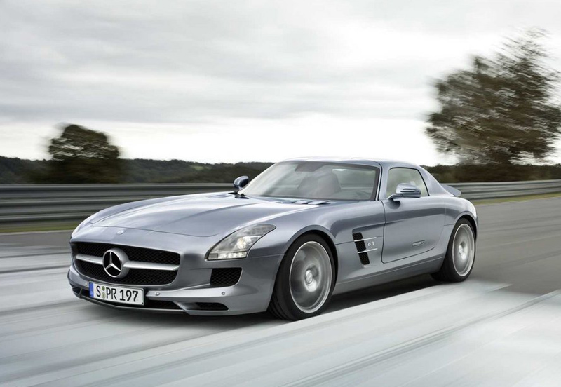 Mercedes benz sls amg sports cars for Sports car mercedes benz