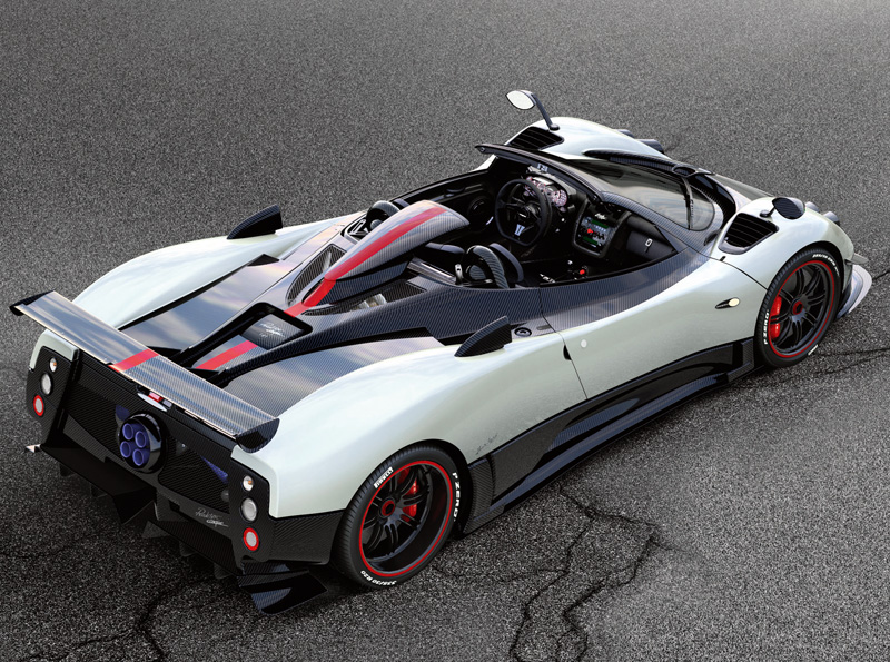 Pagani Zonda Cinque Roadster Sports Cars