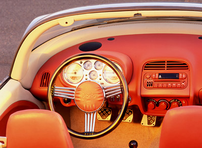 Plymouth Pronto Spyder interior