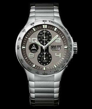 Porsche on Porsche Design Flat Six P 6340 Automatic Chrono   Watches