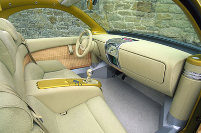 Renault Fiftie interior