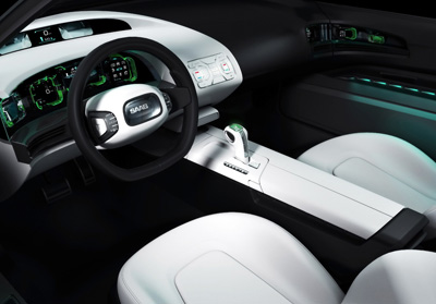 Saab 9X Air concept car interior
