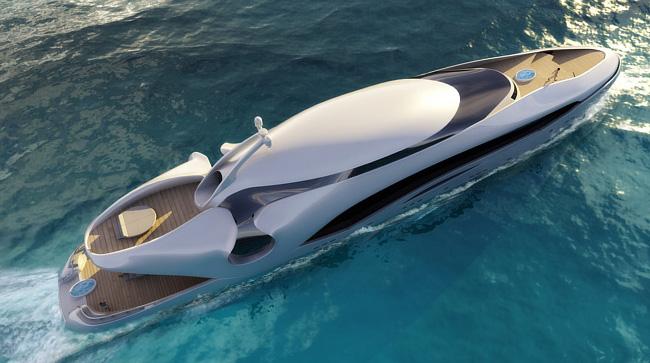 Schopfer yachts oculus boats for Bateau de luxe interieur