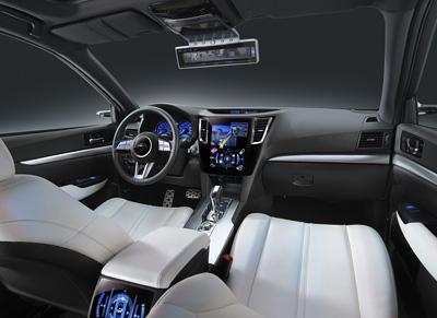 Subaru Legacy Modified Interior Images Car Find