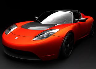 Basé sur l'ordre alphabétique, des noms de voitures, camions, dragsters, vélos, motos, tracteurs, bref tout ce qui roule !... - Page 5 Tesla_Roadster_Sport