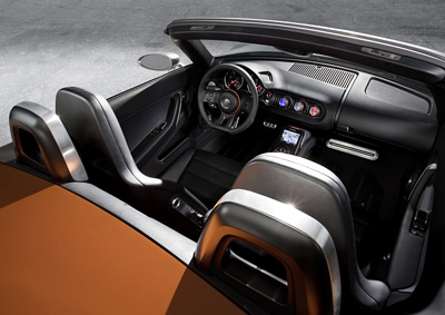 Volkswagen Concept BlueSport interior