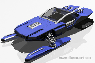 i-Scoob luxury snowmobile