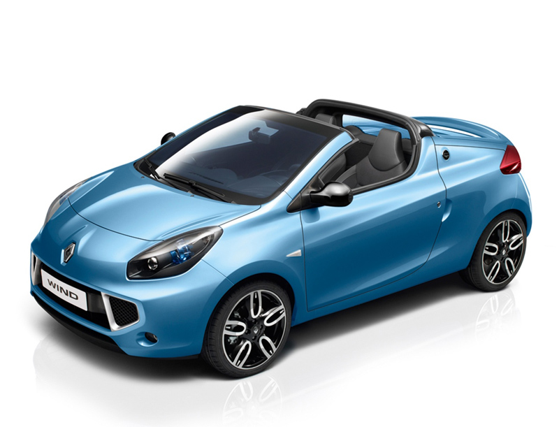 2010 Renault Wind Coupe Roadster Sports Cars