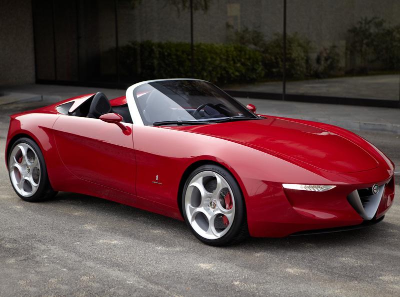 Alfa Romeo 2uettottanta By Pininfarina Concept Cars