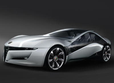 Alfa Romeo Concept Cars on Pandion By Bertone Concept Cars Alfa Romeo Pandion By Bertone