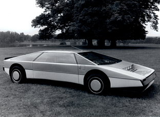 1980 Aston Martin Bulldog concept car