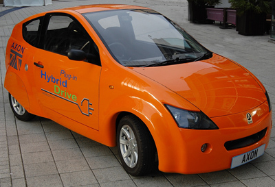 Axon Automotive Electric Car