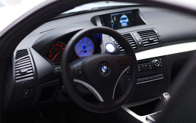 BMW Concept ActiveE interior