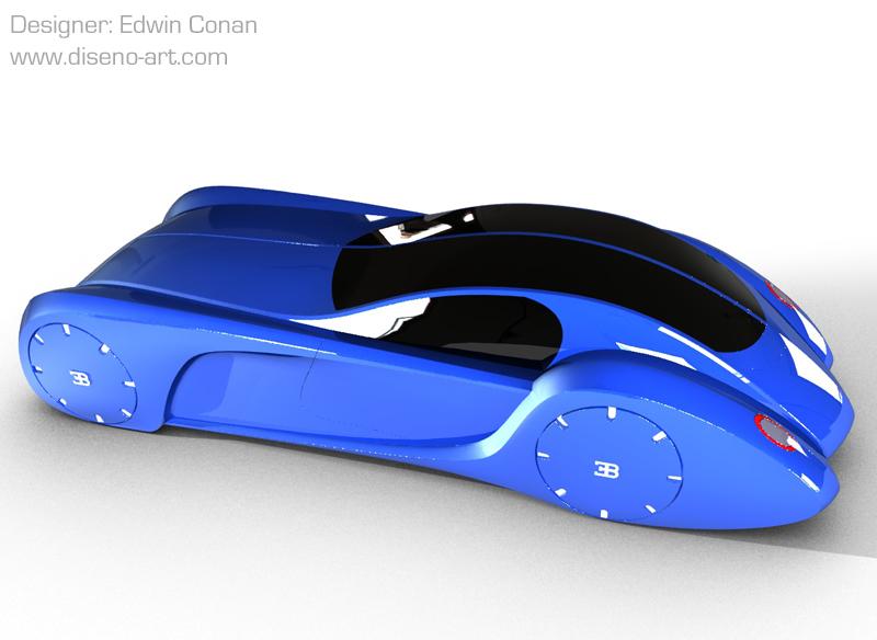 Bugatti Type 57 Evoluzione concept