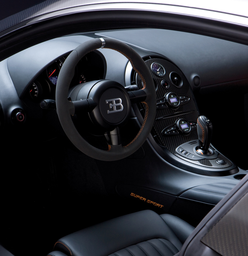 Back to Bugatti Veyron Super Sport Bugatti Veyron Super Sport interior