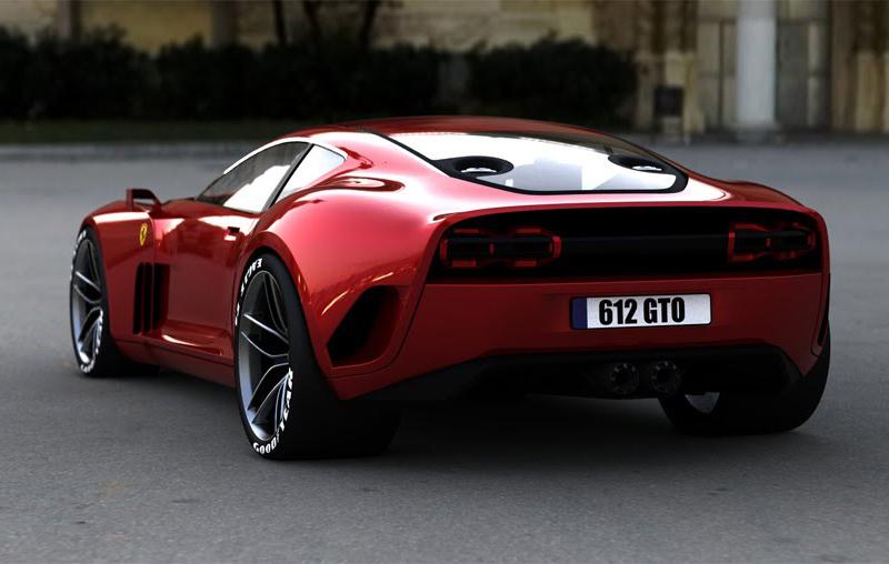 Ferrari 612 GTO | Concept Cars | Diseno-Art