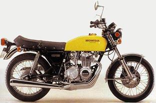 1975 - 1977 Honda CB400 Four Supersport