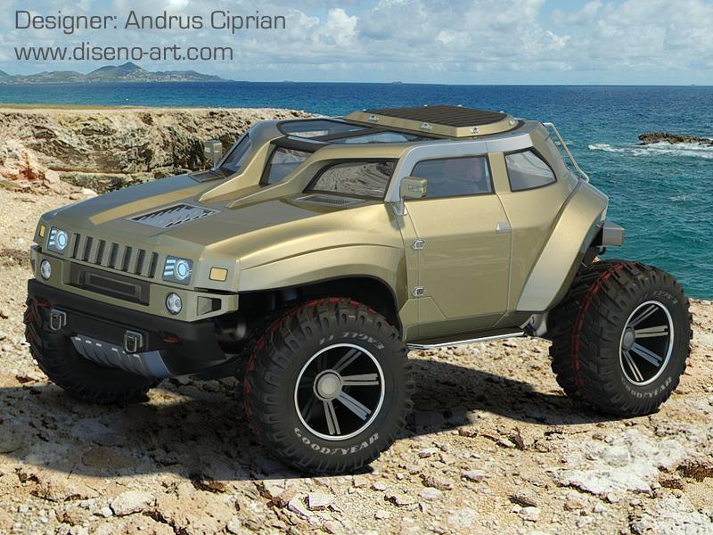Hummer concept cars