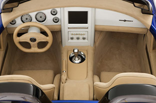 ICONIC Motors AC Roadster interior