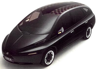 I De A Fiat Vuscia Concept Cars Diseno Art