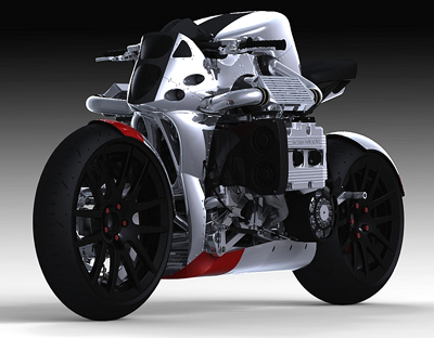 KickBoxer concept motorcycle
