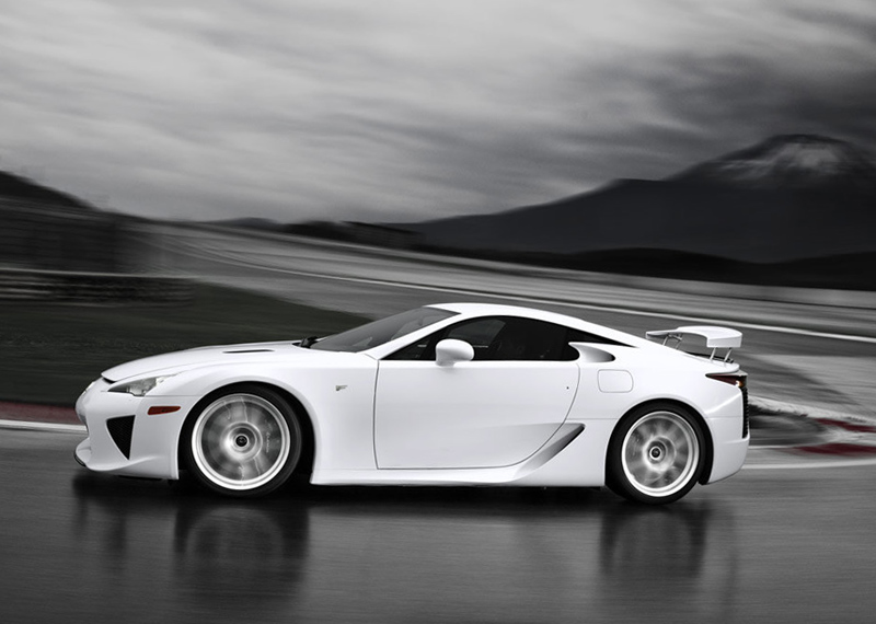 Lexus Lfa Production Car