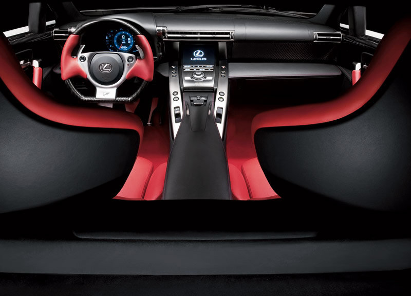 Superior Lexus LFA (production Car) Interior